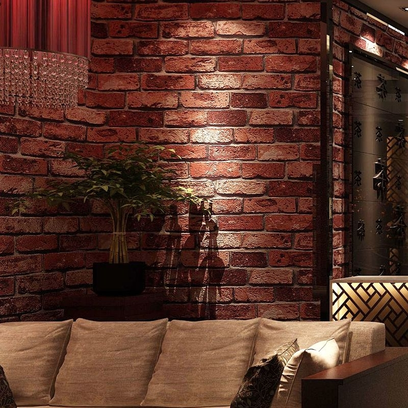 Find More Wallpapers Information About Hot Classic 3D Brick Stone With Widely Used 3D Brick Wall Art (View 6 of 15)