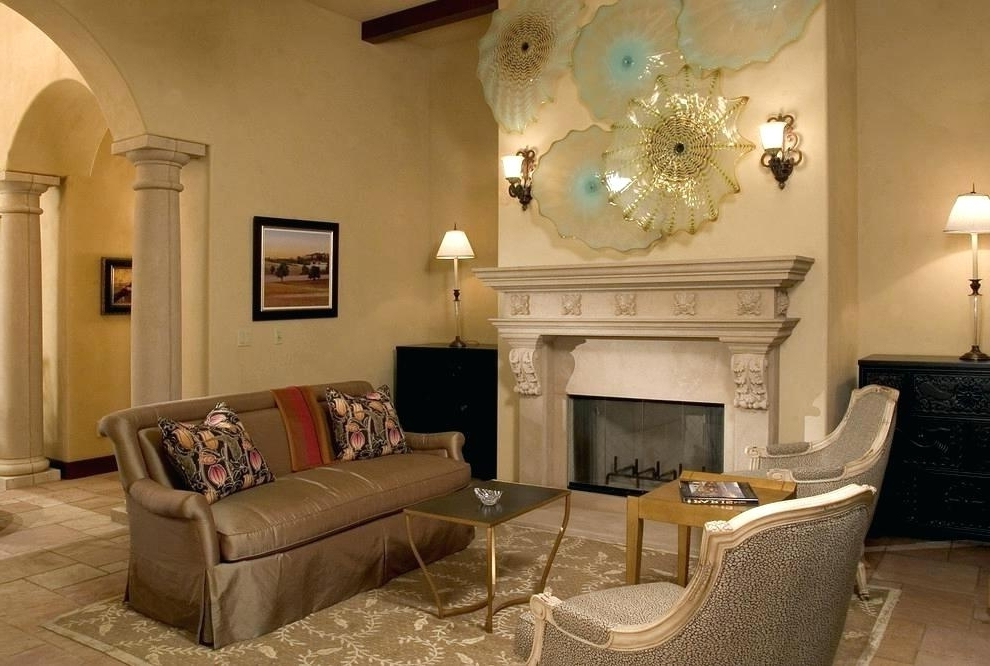 Fireplace Wall Decor Fireplace Wall Decorating Idea Fireplace Wall Inside Favorite Fireplace Wall Art (View 11 of 15)
