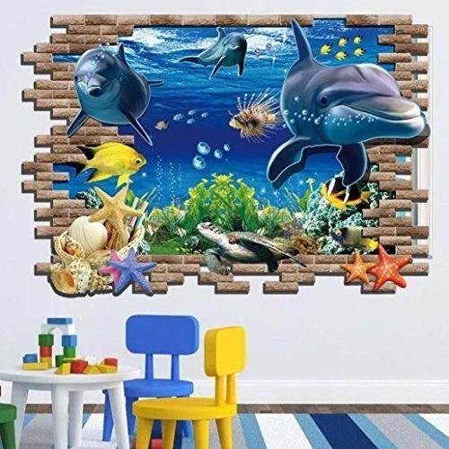Fish 3D Wall Art Regarding Latest $ (View 15 of 15)