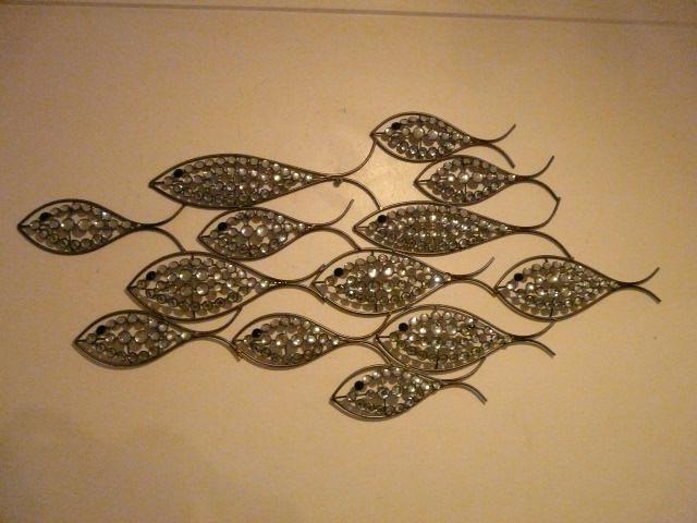 Fish Shoal Metal Wall Art Wonderful Home Interior Design For Fish Regarding Most Popular Fish Shoal Metal Wall Art (View 7 of 15)