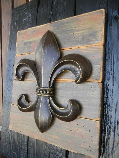 Fleur De Lis Home Decor 460 Best Iron Works Metal Works Fleur De Lis Within Most Current Fleur De Lis Metal Wall Art (View 4 of 15)