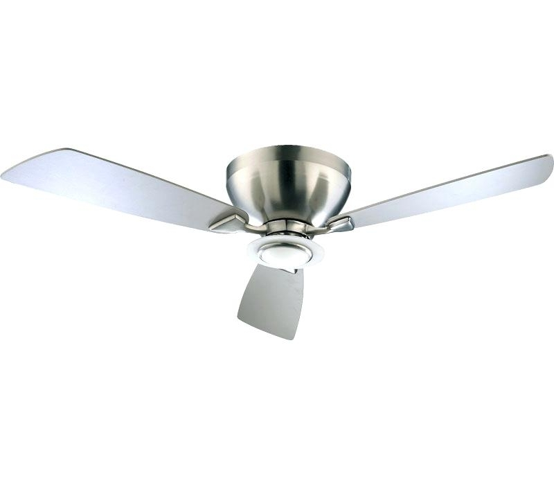 Flush Ceiling Fan With Light Image For Flush Mount Ceiling Fans Within Current Outdoor Ceiling Fans Flush Mount With Light (View 6 of 15)