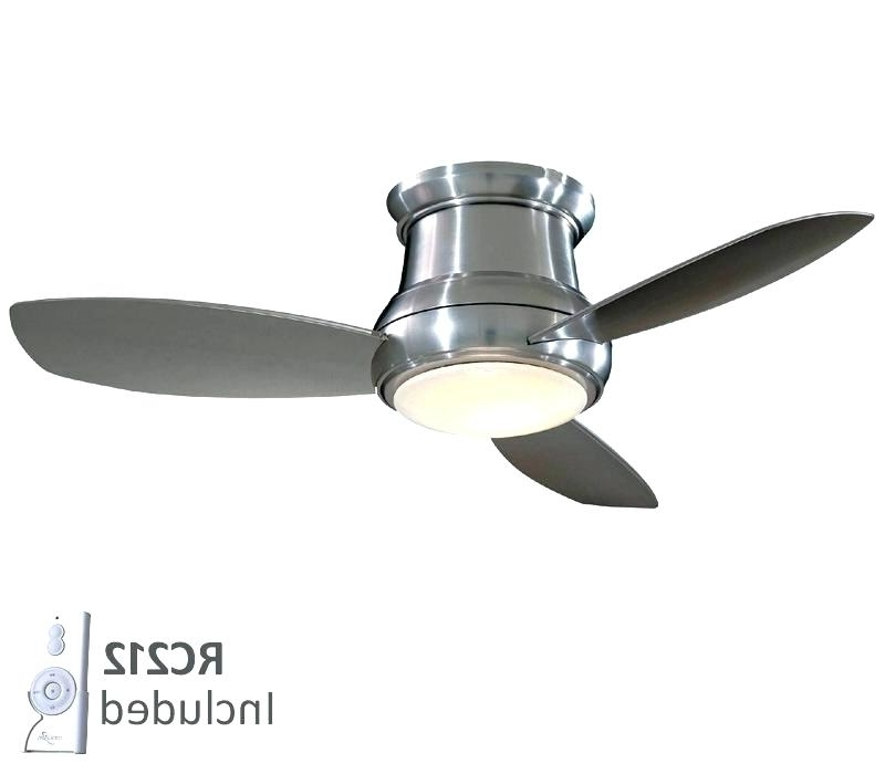 Flush Mount Ceiling Fan With Remote Remote Control Included Ceiling Inside Well Known Outdoor Ceiling Fans Flush Mount With Light (View 8 of 15)