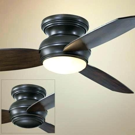 Flush Mount Outdoor Ceiling Fans For Most Popular Flush Mount Outdoor Ceiling Fan With Light Flush Mount Ceiling Fan (View 4 of 15)