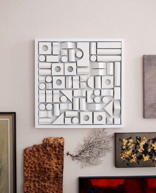Foam Wall Art Fabulous Homemade Wall Art – Home Design And Wall Intended For Fashionable Homemade Wall Art (View 10 of 15)