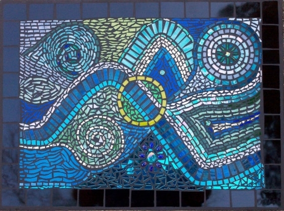 Featured Photo of Abstract Mosaic Wall Art