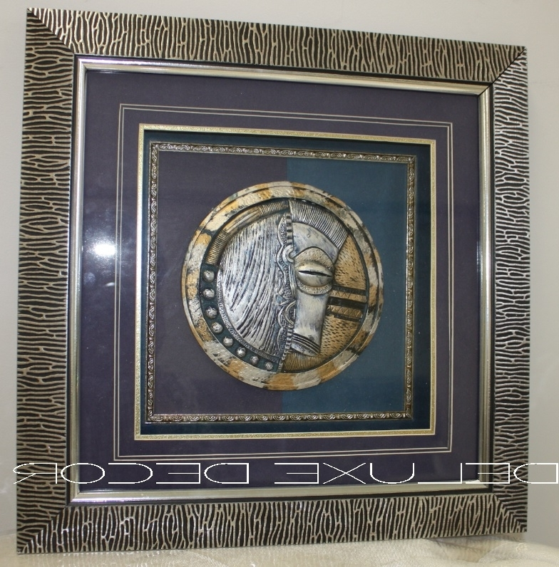 Framed 3D Wall Art For Newest Set Of 4 – Framed 3D Wall Art – Faces Compose (View 11 of 15)