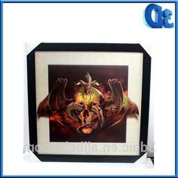 Framed 3D Wall Art Within Well Known Koi 3D Framed Holographic Wall Art Lenticular Technology Causes The (View 14 of 15)