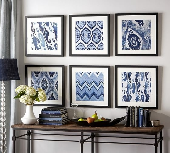 Framed Fabric Wall Art With Famous 21 Home Decor Projects Made With Fabric (View 8 of 15)
