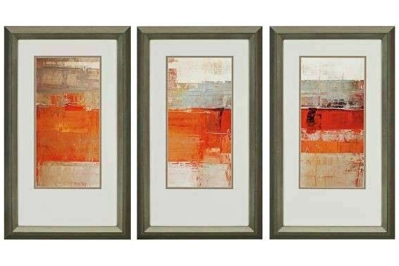Framed Wall Art Set Of 3 Best Ideas About Piece Canvas On Pictures In Recent Brown Framed Wall Art (View 14 of 15)