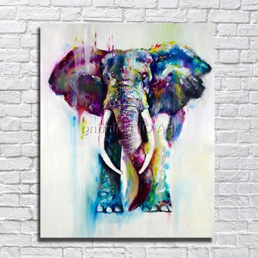 [%Free Shipping 100% Hand Painted Wall Art Abstract Elephant Oil In Most Recent Abstract Elephant Wall Art|Abstract Elephant Wall Art Intended For Well Liked Free Shipping 100% Hand Painted Wall Art Abstract Elephant Oil|Well Liked Abstract Elephant Wall Art Throughout Free Shipping 100% Hand Painted Wall Art Abstract Elephant Oil|Most Popular Free Shipping 100% Hand Painted Wall Art Abstract Elephant Oil Throughout Abstract Elephant Wall Art%] (View 8 of 15)