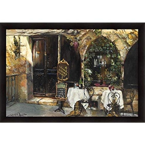 French Street Scene Wall Art: Amazon Inside 2018 Street Scene Wall Art (View 4 of 15)