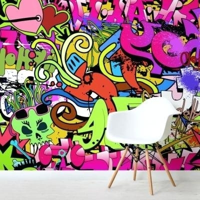 Funky Metal Wall Art Within Most Current Funky Wall Art Funky Wall Art Mural Funky Metal Wall Art Uk – Wpcode (View 10 of 15)