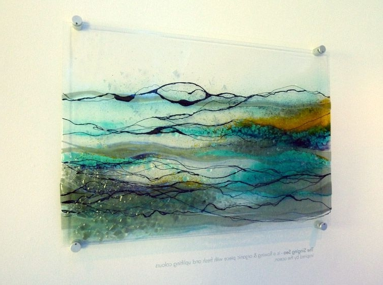 Featured Photo of Fused Glass Wall Art Hanging
