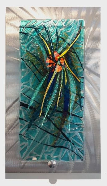 Fused Glass Wall Art Panels (View 9 of 15)