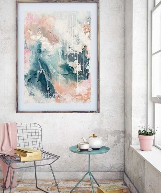 Gallery – Kate Fisher Artist Regarding Favorite Abstract Wall Art Australia (Gallery 9 of 15)