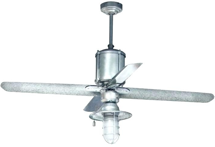 Galvanized Outdoor Ceiling Fan Commercial Fans Machine Age The regarding Most Popular Outdoor Ceiling Fans For Barns