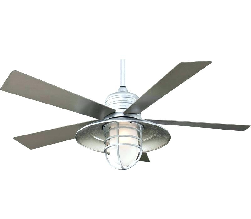 Galvanized Outdoor Ceiling Fans intended for Most Recent Outdoor Ceiling Fan Blades Best Indoor Outdoor Ceiling Fans Reviews