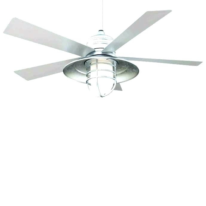 Galvanized Outdoor Ceiling Fans Pertaining To Most Recent Galvanized Outdoor Ceiling Fan Best Fans Medium Size Of Model In (View 7 of 15)