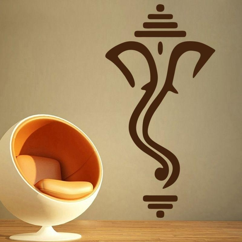 Ganesh Wall Art With Newest Wall Art Ganesh 7 Of 20 Photos Amazing Decor On Modern Home With (View 9 of 15)