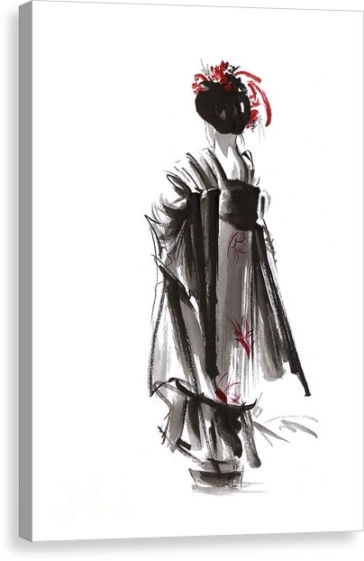 Geisha Canvas Prints (Gallery 1 of 15)