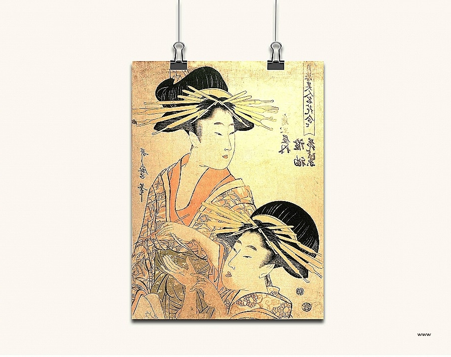 Geisha Canvas Wall Art With Best And Newest Wall Art (View 8 of 15)