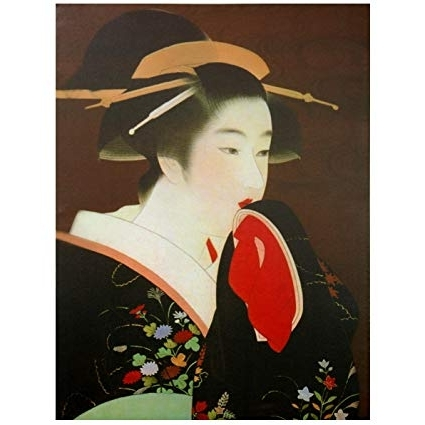 Geisha Canvas Wall Art With Regard To Recent Amazon: Oriental Furniture Geisha Canvas Wall Art: Christmas (View 3 of 15)