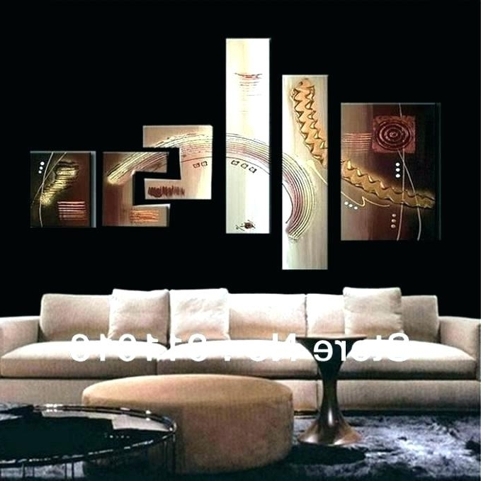 Giant Abstract Wall Art With Regard To Most Recent Large Wall Art Cheap In Between Abstract Art Painting Imagelarge (View 15 of 15)