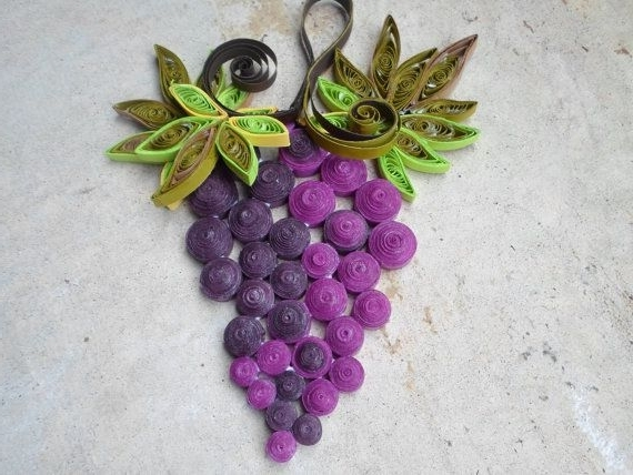 Grape Wall Decorations (Gallery 13 of 15)