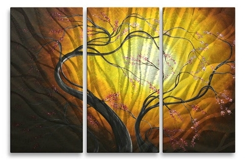 Greeting The Dawnmadart Painting Megan Duncanson Fine Metal Wall With Regard To Most Recently Released Megan Duncanson Metal Wall Art (View 6 of 15)