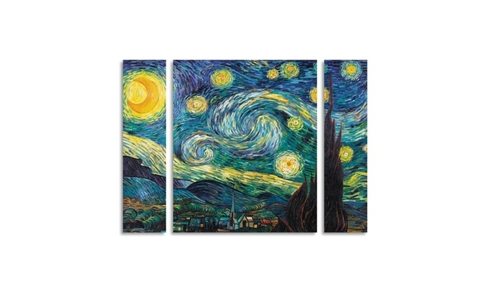 Groupon Regarding Vincent Van Gogh Multi Piece Wall Art (View 7 of 15)