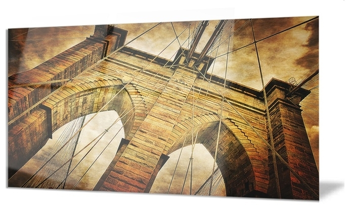 Groupon With Regard To Brooklyn Bridge Metal Wall Art (Gallery 15 of 15)