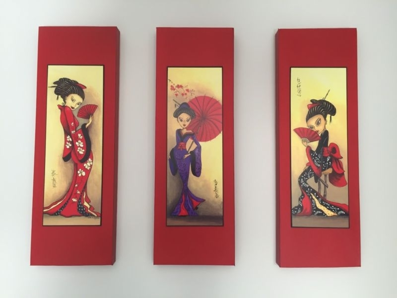 Gumtree Australia Throughout Most Recent Geisha Canvas Wall Art (Gallery 8 of 15)
