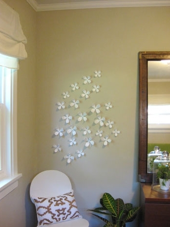 Hanging Umbra's Wallflowers On Your Wall Is Fun, Here's What We Did Regarding Preferred Umbra 3D Flower Wall Art (Gallery 8 of 15)