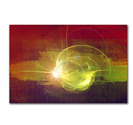 Happiness Abstract Wall Art Inside Well Known Abstract Wall Art 120 X 80Cm Abstrakt027 – Sparks Of Happiness (Gallery 13 of 15)