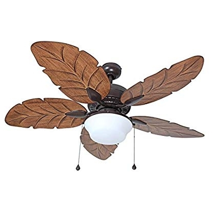 Harbor Breeze Waveport 52 In Bronze Outdoor Downrod Mount Ceiling Inside Most Popular Harbor Breeze Outdoor Ceiling Fans (View 7 of 15)
