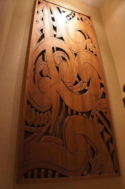 Hawaiian Wall Art Within Trendy Hawaiian Wall Decor Wood Art Mycraftingbox Com Beautiful (View 10 of 15)