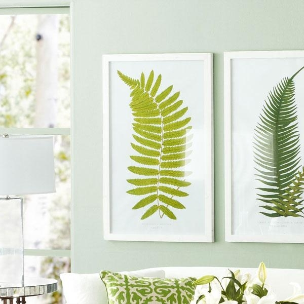 Hawaiian Wall Art Within Widely Used Perennial Fern Prints Â?? Hawaiian – Wall Art – Wisteria (View 5 of 15)