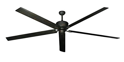 Hercules 96 Inch Dc Ceiling Fan With Remote (Oil Rubbed Bronze Throughout Latest 72 Inch Outdoor Ceiling Fans (Gallery 3 of 15)