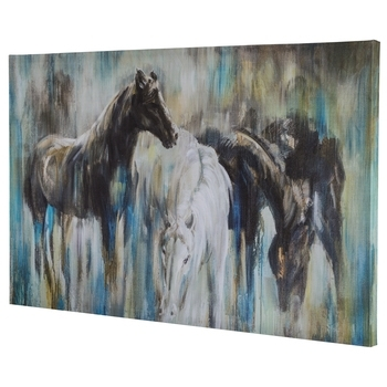 Hobby Lobby Abstract Wall Art Inside Most Current Abstract Horse Canvas Wall Decor (Gallery 6 of 15)
