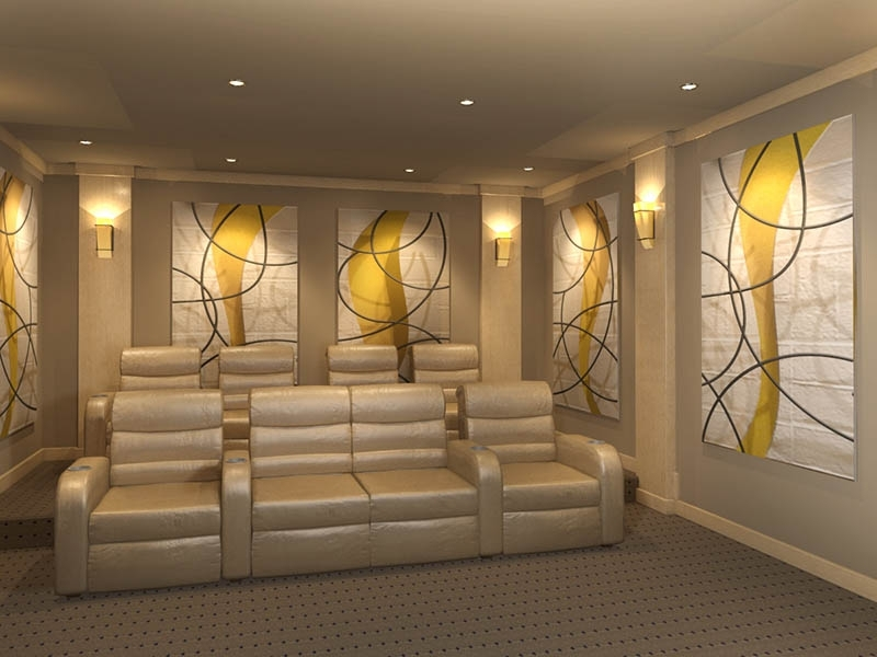 Home Theater Wall Art Regarding Preferred Decorative Acoustic Panels :: Home Theater Acoustic Wall Art (View 12 of 15)