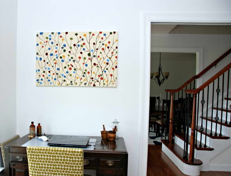 Homemade Wall Art Intended For Best And Newest Simple Easy Trend Homemade Wall Art – Wall Decoration And Wall Art Ideas (View 3 of 15)