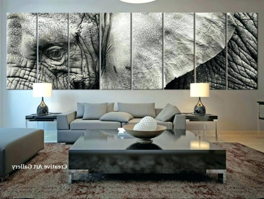 Horizontal Canvas Wall Art Decor Entrancing Gorgeous Long Trendy For Favorite Horizontal Canvas Wall Art (View 9 of 15)