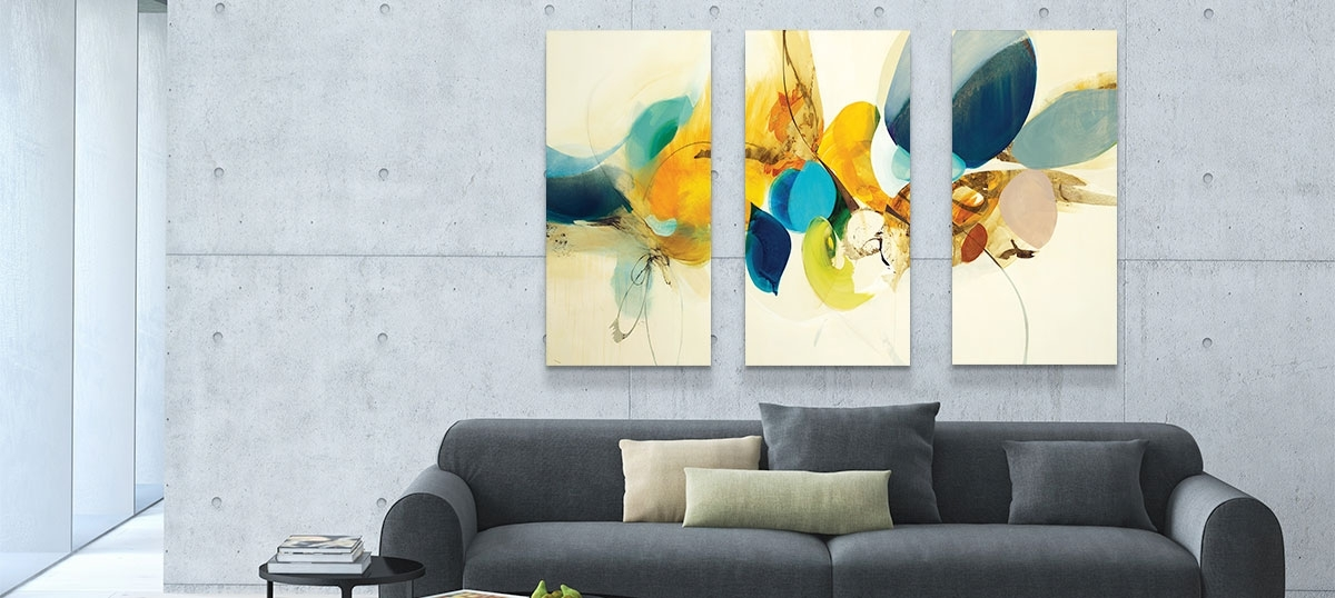 Horizontal, Vertical, Square, Panoramic Horizontal & Panoramic Regarding Trendy Horizontal Abstract Wall Art (Gallery 4 of 15)
