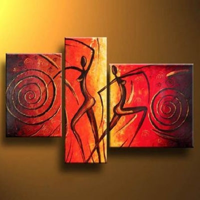 Hot Evening Modern Canvas Art Wall Decor Abstract Oil Painting Wall Within Latest Cheap Wall Canvas Art (Gallery 14 of 15)