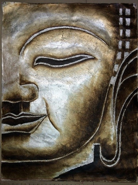 [%Hot Sale 100% Handpainted Canvas Painting Modern Silver Foil Of With 2017 Silver Buddha Wall Art|Silver Buddha Wall Art Pertaining To Newest Hot Sale 100% Handpainted Canvas Painting Modern Silver Foil Of|Preferred Silver Buddha Wall Art Intended For Hot Sale 100% Handpainted Canvas Painting Modern Silver Foil Of|Recent Hot Sale 100% Handpainted Canvas Painting Modern Silver Foil Of For Silver Buddha Wall Art%] (View 7 of 15)