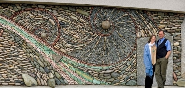 Houzz Home Pertaining To Abstract Mosaic Art On Wall (View 8 of 15)