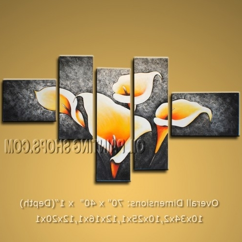 Featured Photo of Abstract Floral Canvas Wall Art