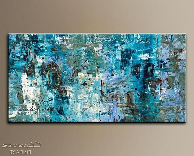 Huge Abstract Wall Art Large Painting Large Paintings For Sale In Newest Abstract Wall Art Australia (Gallery 12 of 15)