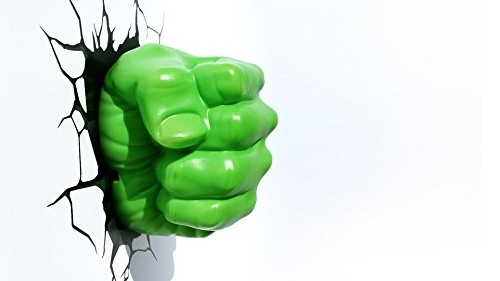 Hulk Hand 3D Wall Art Inside Well Known Vogue (View 5 of 15)